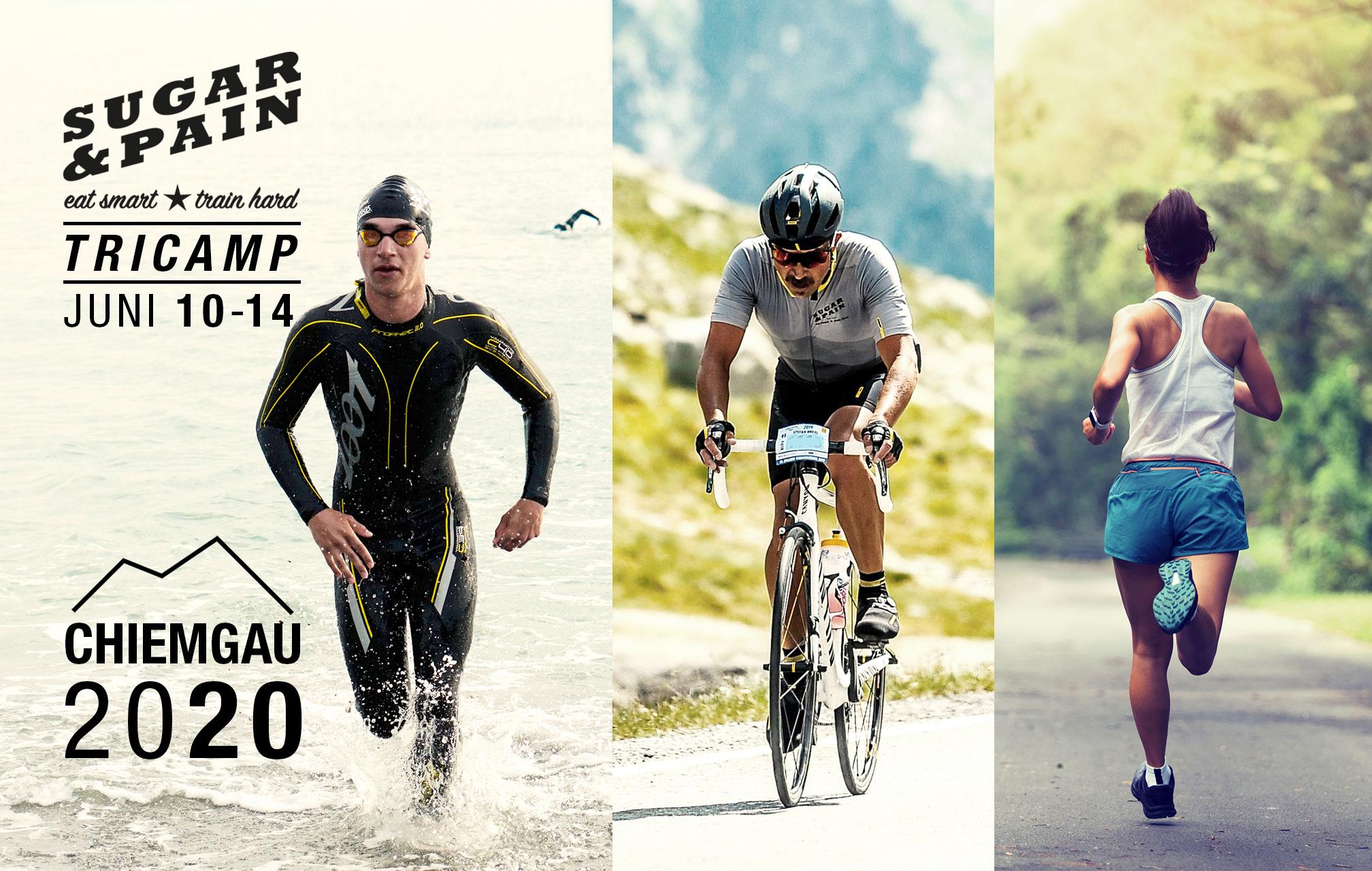 SUGAR & PAIN TRI CAMP #CH20 – Das Triathlon Trainingslager Chiemgau 2020