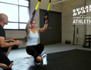 Die funktionelle und effektivste Trainingsalternative Slingtraining für zu Hause oder draussen sollte man regelmässig mit einem professionellen Coach trainieren © Perform Better Europe / FTC Functional Training Company GmbH