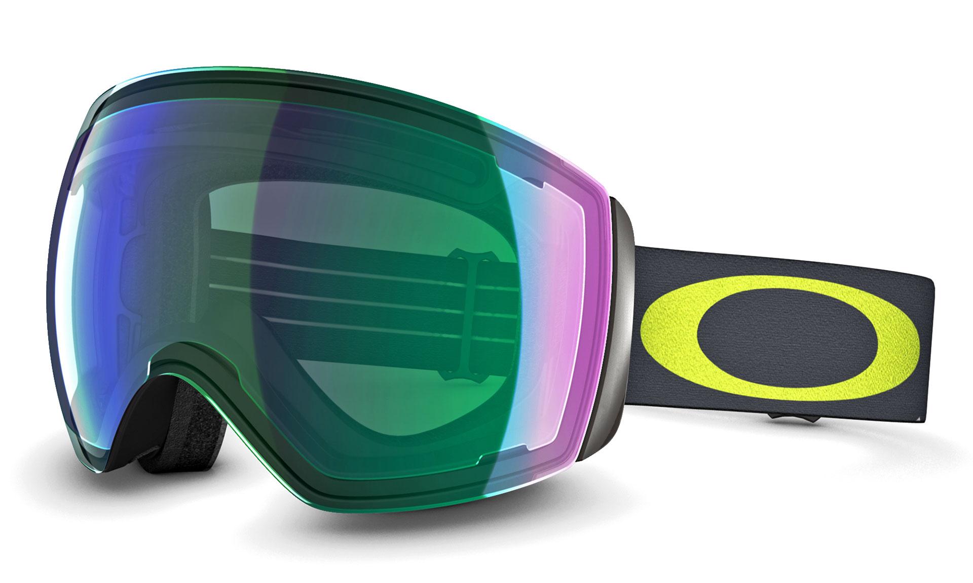 Die Oakley Prizm Technologie verbessert die Wahrnehmnung von Details und Konturen im Schnee und ermöglicht damit klarere Sicht, schnellere Reaktion und sichereres Fahren. Inspiriert durch die Helmvisiere von Kampfpiloten, hat Oakley Flight Deck Prizm ein einzigartiges Sichtfeld und die Kompatibilität mit einer breiten Palette an Helmen.