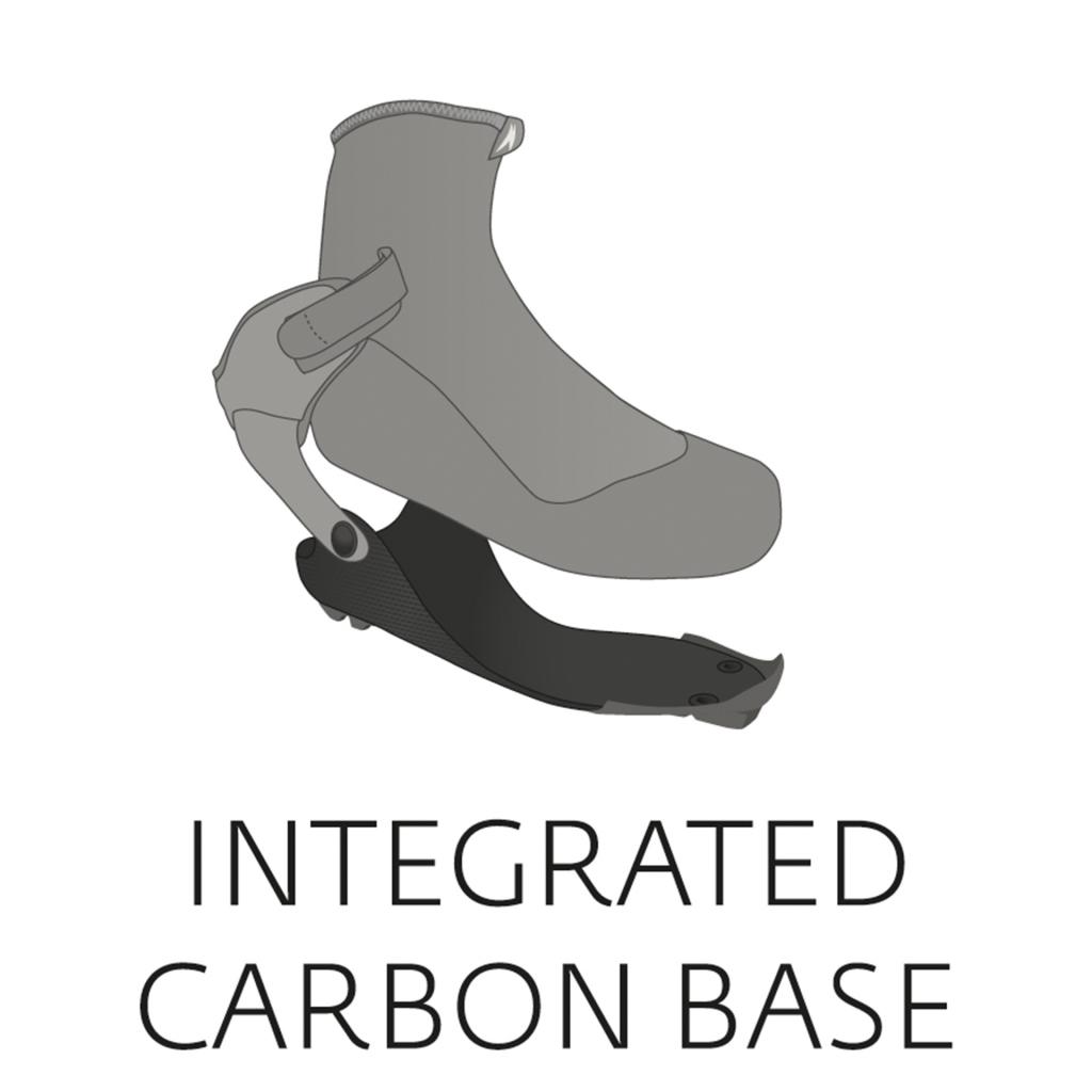 Der Super Nano Skate-Skating-Schuh von Langlaufspezialisten Madshus richtet sich mit seiner dreidimensionalen einteiligen Carbongrundplatte an Athleten, die aus sich selbst und ihrem Material das Maximale herausholen möchten. Aufgebaut auf einer integrierten 3DKarbon-Leistenplatte, überträgt der Schuh die gesamte Energie des Athleten aus dem Abstoß direkt auf den Langlaufski. Die Carbonsohle und Fersenkappe des Super Nano Skate sind aus einem Stück gefertigt und der Anatomie des Fußes angepasst. Sie verläuft vom Vorfuß unter dem Fußgewölbe hindurch und reicht dabei bis nach oben zum Knöchel und dem Ansatz der Carbon-Verbund-Manschette. Mit dieser Besonderheit hat der Madshus Super Nano Skate auch prompt einen Ispo Award eingefahren.