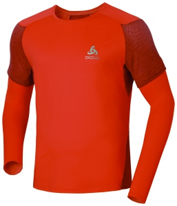Bei den Männern überzeugt das Odlo Endurance CRONO T-Shirt anspruchsvolle Läufer. Dank der Meshstruktur des Gewebes und der verwendeten Body Mapping Konstruktion ist es sehr luftduchlässig und federleicht.