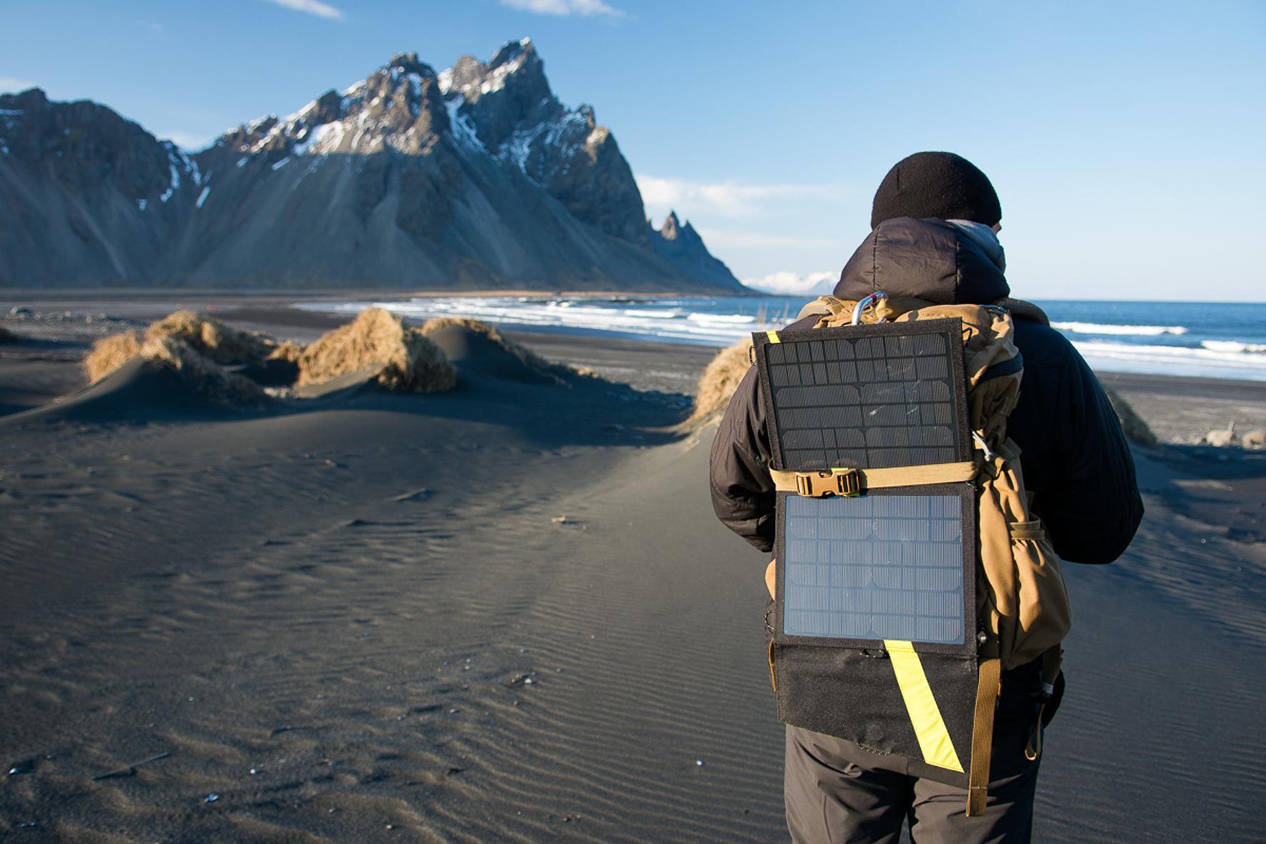 GOAL ZERO Switch 10 USB Multi-Tool Kit auf Reisen in Island
