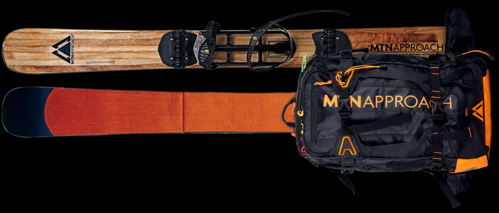 MTN Approach is the first snowboard specific Climbing System by and for snowboarders focused on riding better terrain with better equipment.