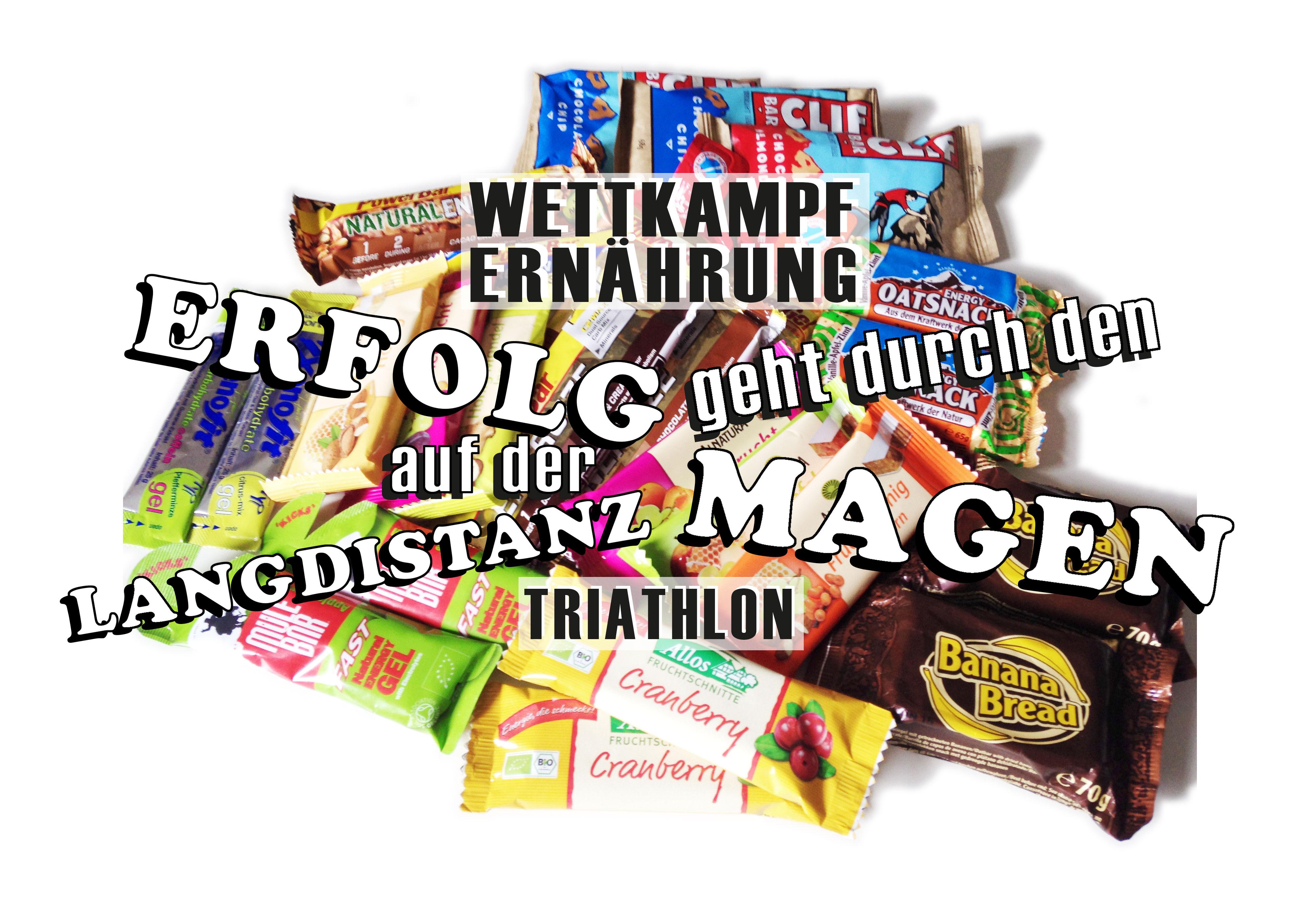 WETTKAMPFERNÄHRUNG Erfolg auf der Langdistanz läuft durch den Magen / Die Qualt der Wahl: Eine unüberschaubare Anzahl an Herstellern und Produkten für Sporternährung deren Qualitäten, Preise und Verträglichkeiten sehr unterschiedlich sind
