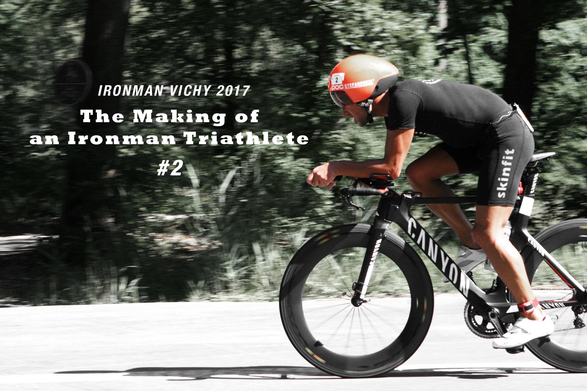 IRONMAN VICHY 2017 The Making of an Ironman Triathlete #2 / Über den heissen Asphalt in Forst beim Triathlon Heidesee 2017 © Kerstin Drexl