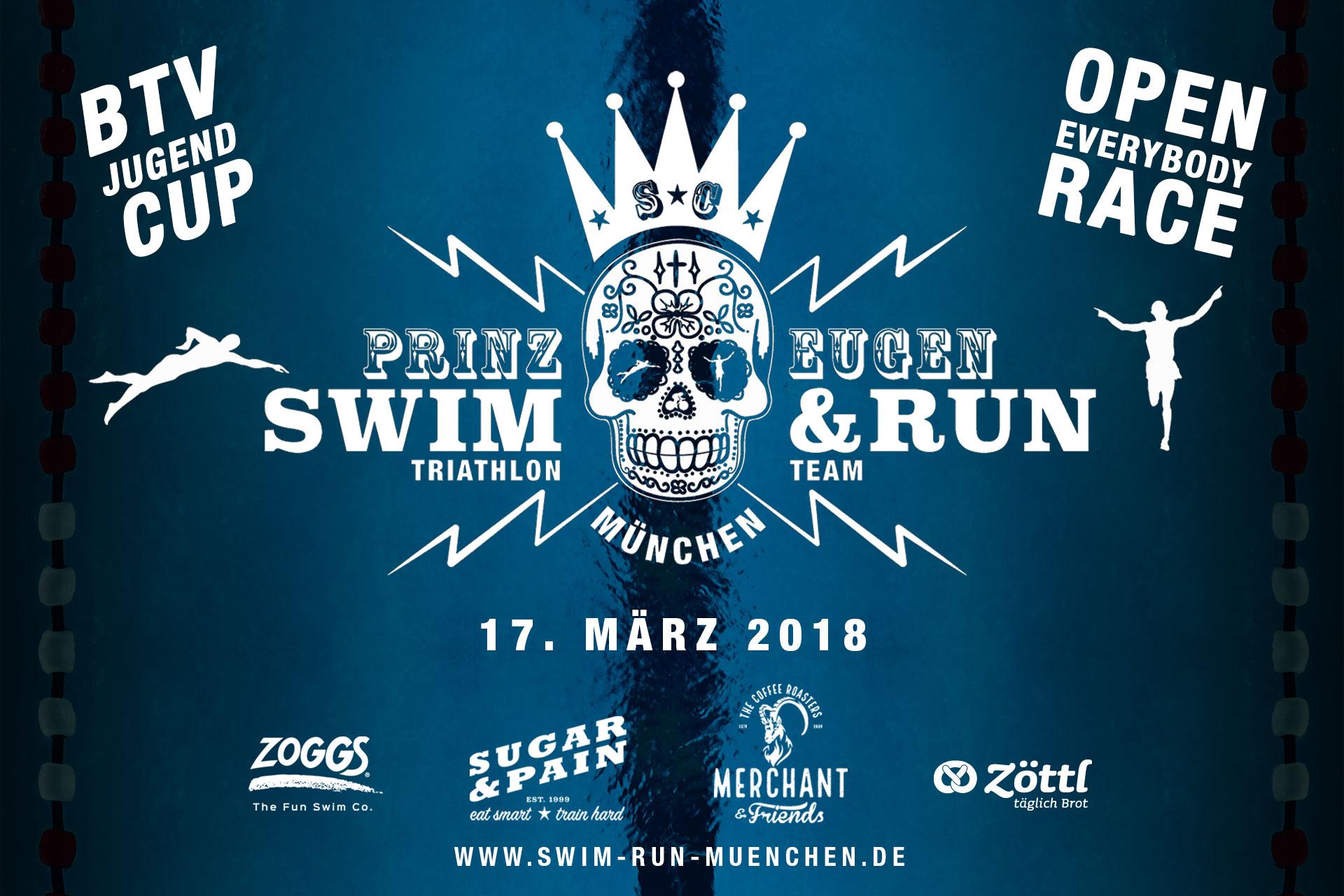 8. SWIM 'N' RUN MÜNCHEN / Samstag, 17. März 2018 / JETZT ANMELDEN ! © stefandrexl.com