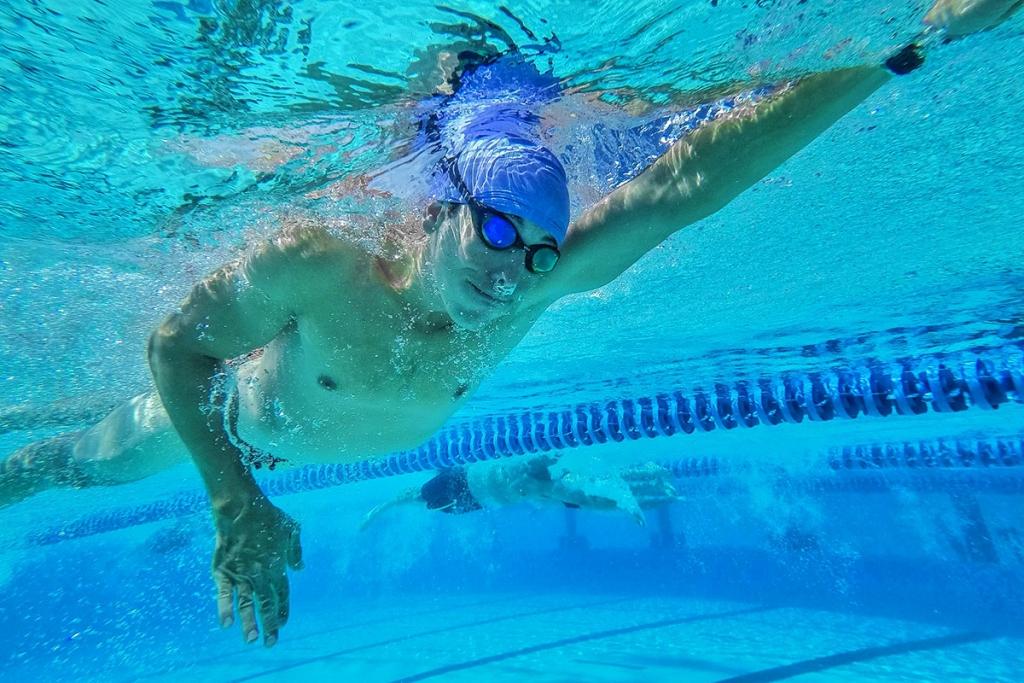 IRONMAN HAWAII 2018 The Kona Race Report 2018 by Klodian Mitri / Practicing Swim Techique © Klodian Mitri