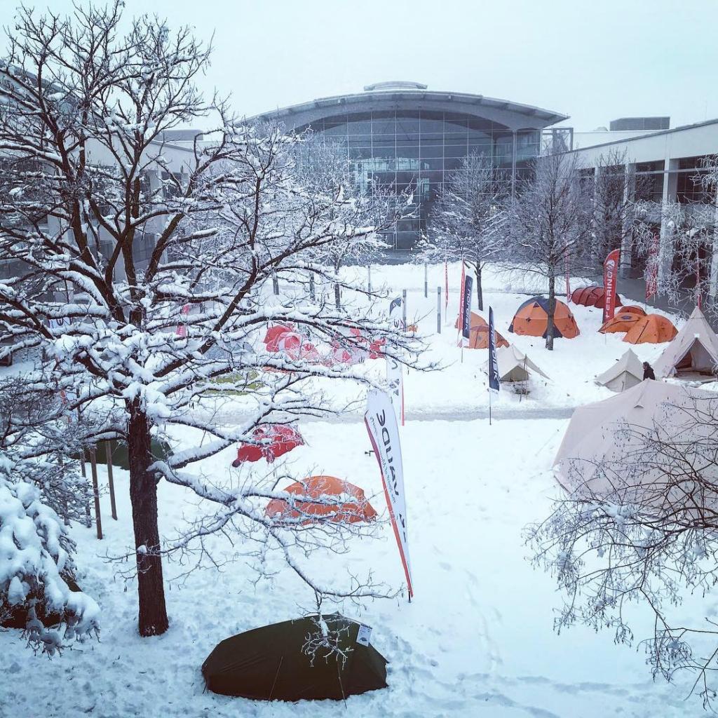 ISPO MUNICH 2019 Highlights / Winter Camping – Keine Spur von Sommer © Stefan Drexl