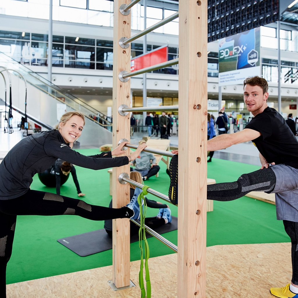 ISPO MUNICH 2019 Highlights / OUTDOOR Fitness Circuit © 2019 Messe München GmbH / Photo: Frommel fotodesign