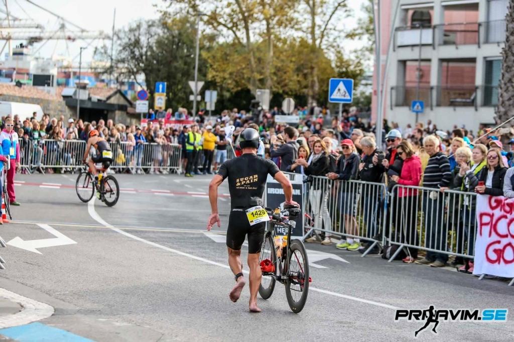 IRONMAN 70.3 SLOVENIA Bestleistungen und WM-Qualifikationen zum Saisonfinale / BIKE Start, Stefan Drexl © prijavim.se