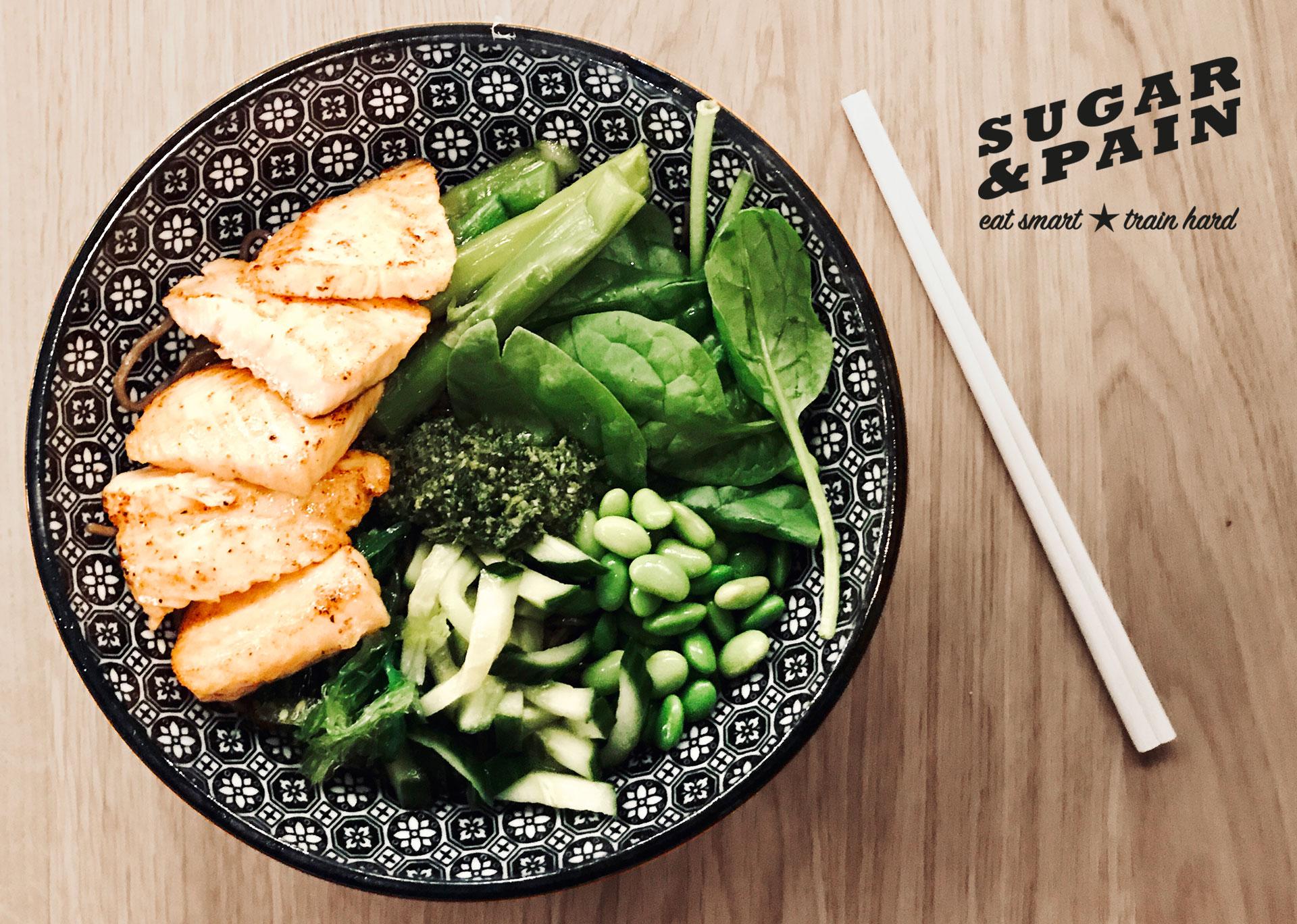 10 Ernährungs-Tipps für Triathleten / Vegetarisch mit Fisch ist japanisches Ramen © sugarandpain.com