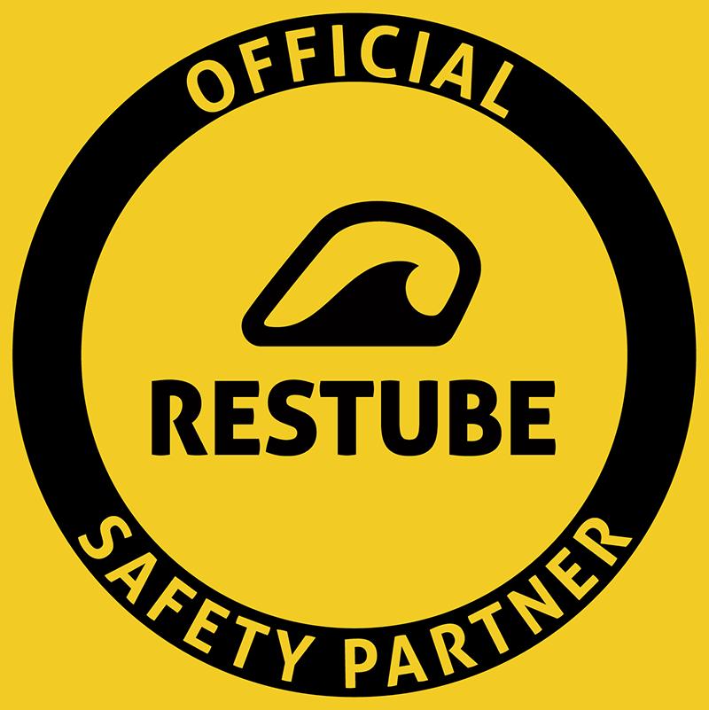 SUGAR & PAIN COLLAB Partner RESTUBE / Logo © Restube