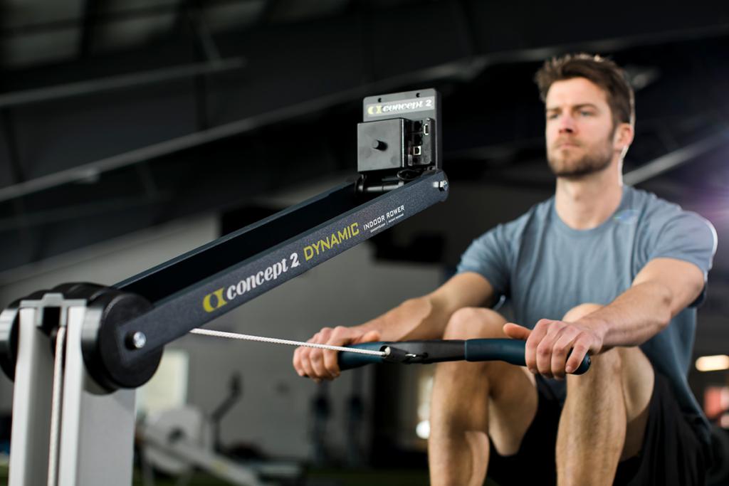 Die Indoor Trainingsalternative: Rudertrainer. © Concept2, Inc., 105 Industrial Park Drive, Morrisville, VT 05661, USA