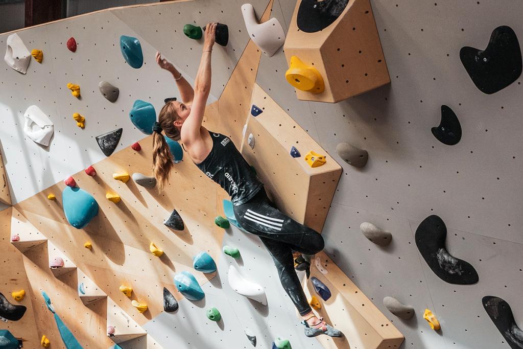 Bouldern verbindet Training mit Spaß © T. Lindinger / orgasport GmbH