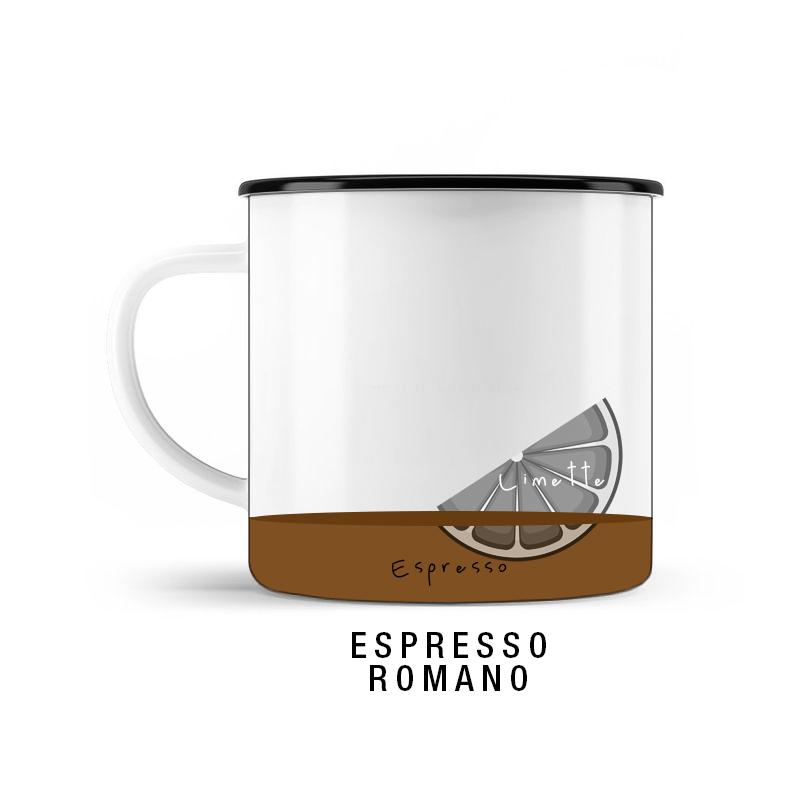 KOFFEIN IM BLUT Welcher Espressotyp bist Du? / Espresso Romano © SUGAR & PAIN / stereographic