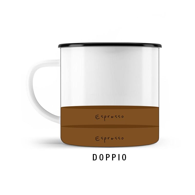 KOFFEIN IM BLUT Welcher Espressotyp bist Du? Doppio © SUGAR & PAIN / stereographic